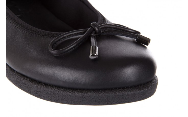Baleriny the flexx notturno black 18, czarny, skóra naturalna  - the flexx - nasze marki 5