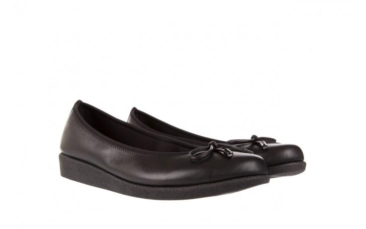 Baleriny the flexx notturno black 18, czarny, skóra naturalna  - the flexx - nasze marki 1