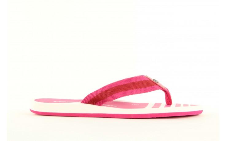 Klapki tom tailor 5491701 pink, róż, guma 2