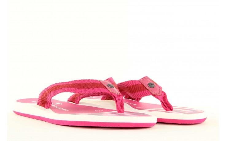 Klapki tom tailor 5491701 pink, róż, guma 4