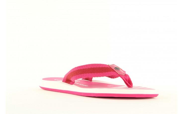 Klapki tom tailor 5491701 pink, róż, guma 5