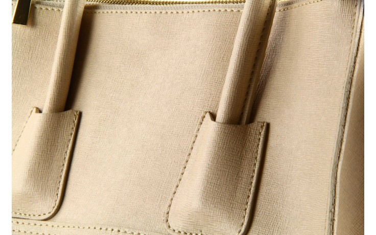 Torebka bp35 borsa pelle wz. 003 beżowy - bayla - nasze marki 5