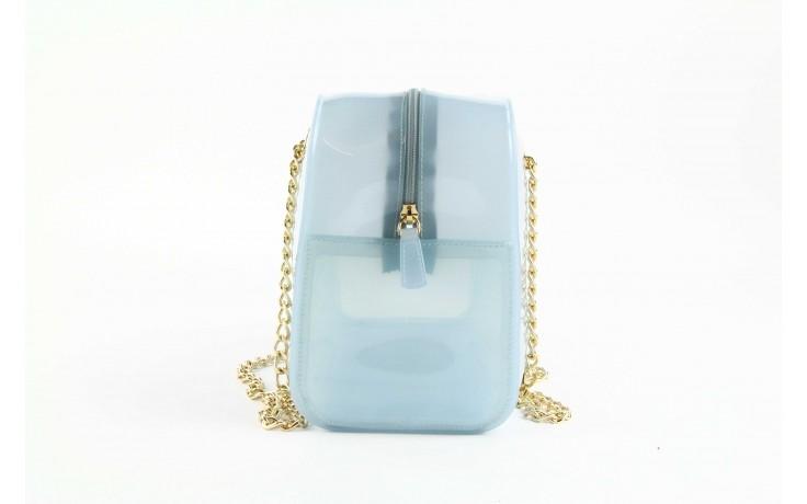 Torebka menghi 602 bauletto celeste gel, niebieski, tworzywo sztuczne 1