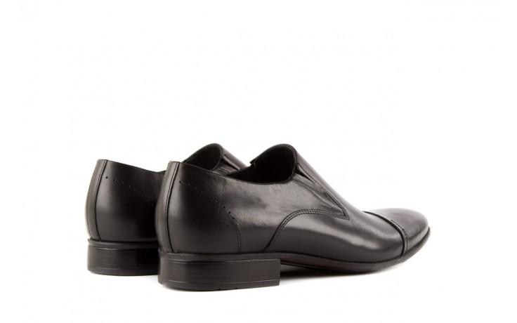 Półbuty tresor-057 2985 czarny, skóra naturalna - obuwie wizytowe - buty męskie - mężczyzna 3