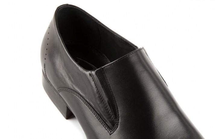 Półbuty tresor-057 2985 czarny, skóra naturalna - obuwie wizytowe - buty męskie - mężczyzna 5