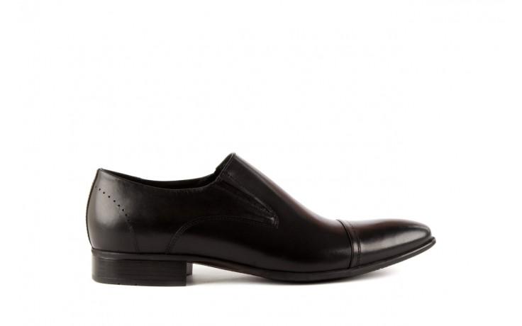 Półbuty tresor-057 2985 czarny, skóra naturalna - obuwie wizytowe - buty męskie - mężczyzna