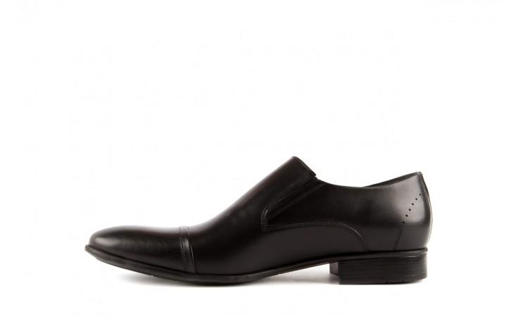 Półbuty tresor-057 2985 czarny, skóra naturalna - obuwie wizytowe - buty męskie - mężczyzna 2