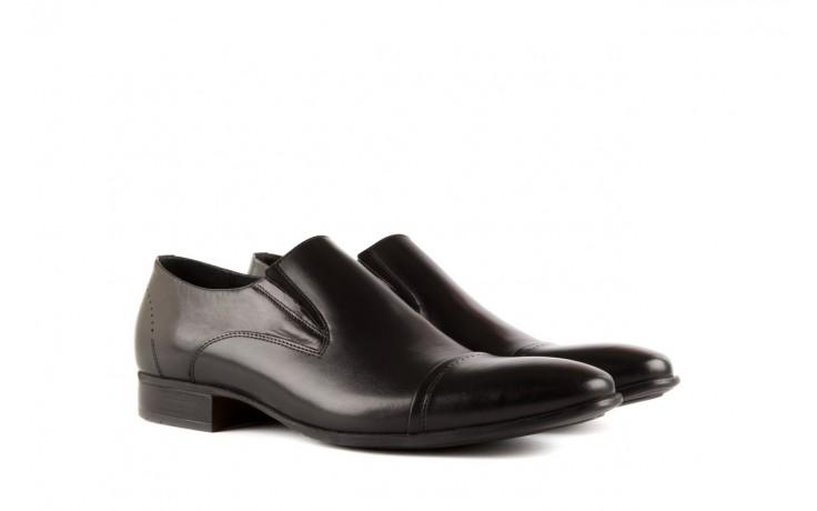 Półbuty tresor-057 2985 czarny, skóra naturalna - obuwie wizytowe - buty męskie - mężczyzna 1