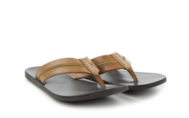 Klapki tresor-110 50927 tan tan, beż, skóra naturalna - tresor - nasze marki 1