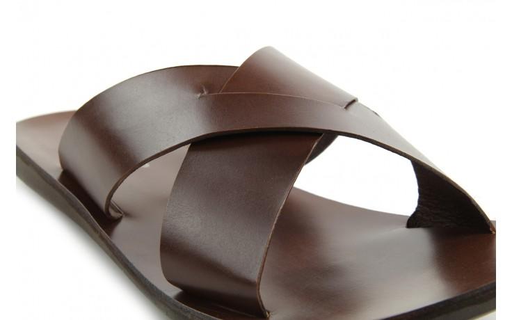 Klapki tresor-110 50945 tan, brąz, skóra naturalna - tresor - nasze marki 5