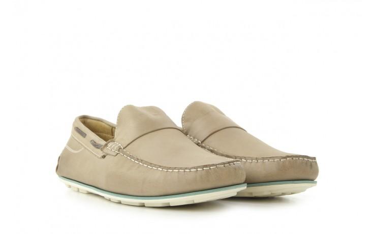 Mokasyny tresor-113 6810 cenere, brąz, skóra naturalna - mokasyny i espadryle - buty męskie - mężczyzna 1