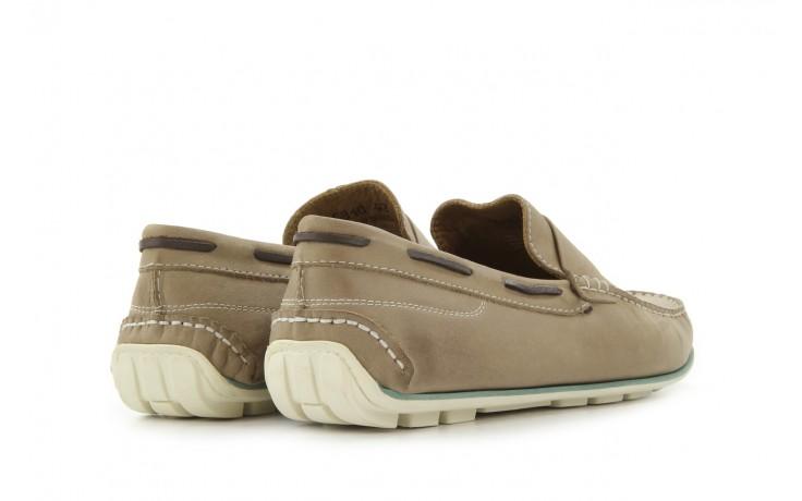 Mokasyny tresor-113 6810 cenere, brąz, skóra naturalna - mokasyny i espadryle - buty męskie - mężczyzna 2
