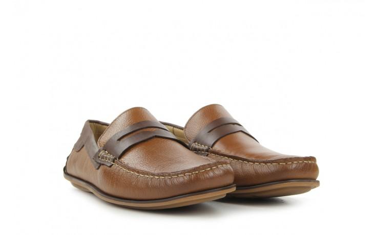 Mokasyny tresor-113 8500 bronze cafe, brąz, skóra naturalna - mokasyny i espadryle - buty męskie - mężczyzna 1