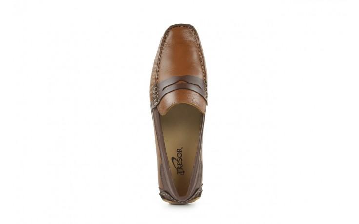 Mokasyny tresor-113 8500 bronze cafe, brąz, skóra naturalna - mokasyny i espadryle - buty męskie - mężczyzna 2