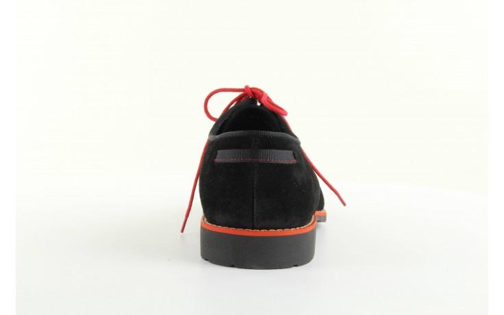 Półbuty  tresor-tr 3160 czarny, skóra naturalna  - tresor - nasze marki