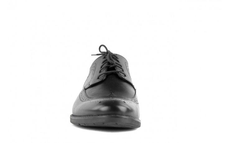 Półbuty tresor-tr 3243 czarny, skóra naturalna  - tresor - nasze marki 4