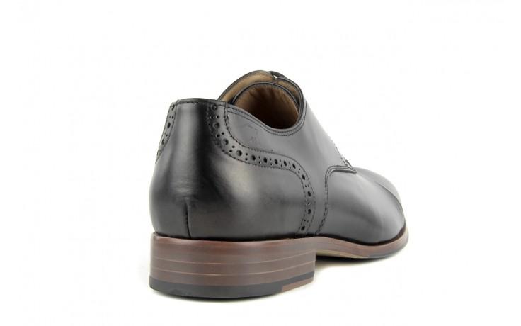 Półbuty valuni 8677 black/grey, czarny/szary, skóra naturalna 2