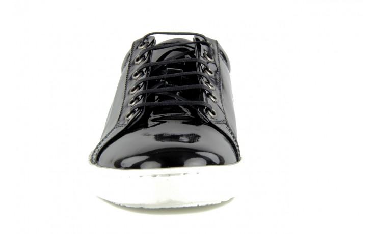 Pólbuty valuni 8964 black, czarny, skóra naturalna - trampki - buty męskie - mężczyzna 3