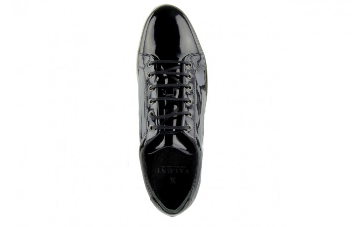 Pólbuty valuni 8964 black, czarny, skóra naturalna - trampki - buty męskie - mężczyzna 4