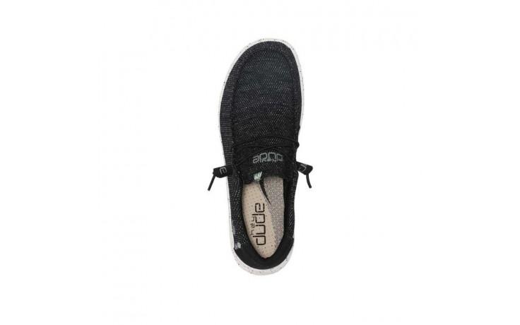 Półbuty heydude wally free ink, czarny, materiał - sale - buty męskie - mężczyzna 5