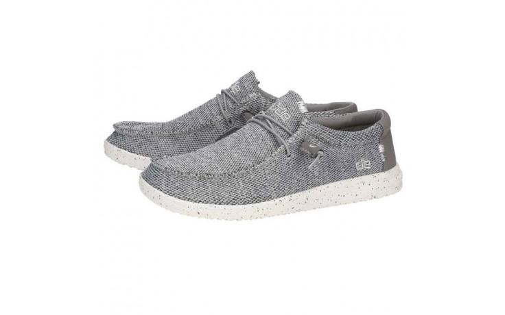 Półbuty heydude wally free light grey, szary, materiał  - sportowe - półbuty - buty męskie - mężczyzna 1