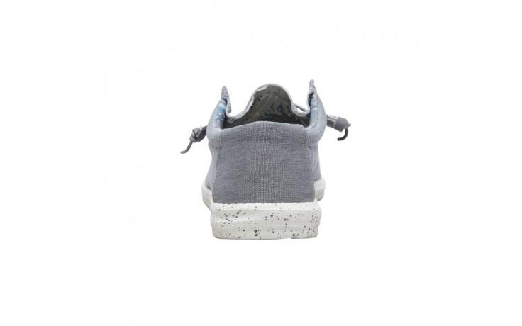 Półbuty heydude wally stretch iron, szary, materiał - heydude - nasze marki 3