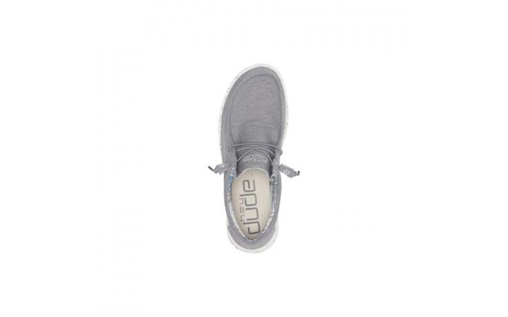 Półbuty heydude wally stretch iron, szary, materiał - heydude - nasze marki 4