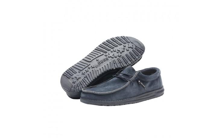 Półbuty heydude wally suede carbon, szary, skóra naturalna  - sportowe - półbuty - buty męskie - mężczyzna 2