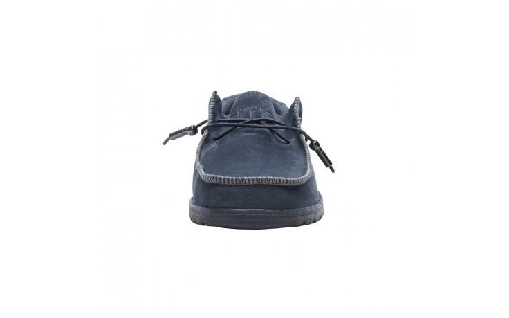 Półbuty heydude wally suede carbon, szary, skóra naturalna  - sportowe - półbuty - buty męskie - mężczyzna 3