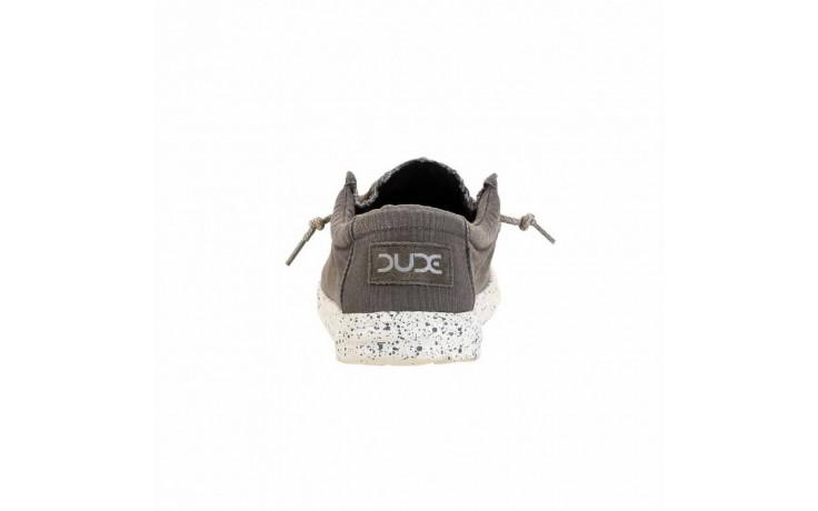 Półbuty heydude wally washed dark grey, szary, materiał - heydude - nasze marki 4