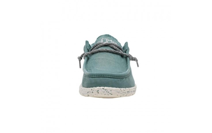 Półbuty heydude wally washed teal, zielony, materiał  - sportowe - półbuty - buty męskie - mężczyzna 2