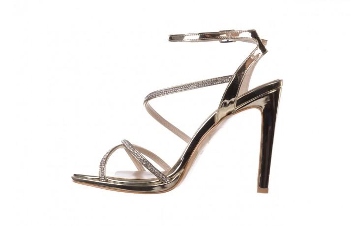 Sandały bayla-187 589-9078 złoty, skóra ekologiczna  - na obcasie - sandały - buty damskie - kobieta 2