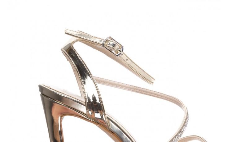 Sandały bayla-187 589-9078 złoty, skóra ekologiczna  - na obcasie - sandały - buty damskie - kobieta 5