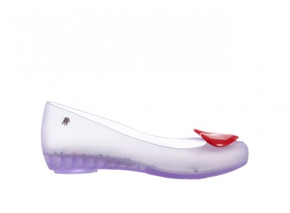 Melissa Ultragirl Alice Clear Black Red
