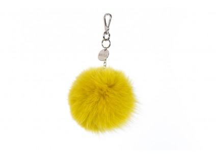 Bayla-125 Brelok lis żółty łańcuch