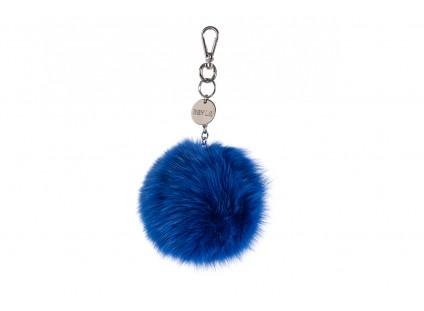 Bayla-125 Brelok lis niebieski łańcuch