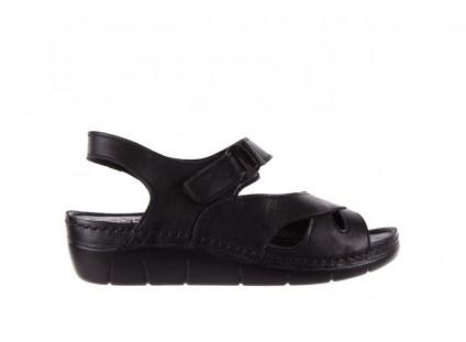 Sandały Bayla-112 0348-3002 Black, Czarny, Skóra naturalna