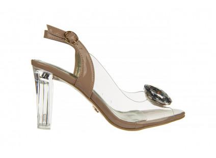 Sandały Sca'viola G-17 L Pink 21 047185, Róż, Silikon