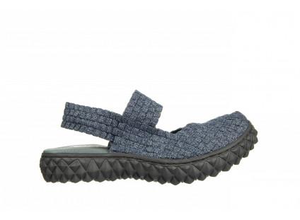 Sandały Rock Over Sandal Jeans Smoke 032859, Niebieski, Materiał