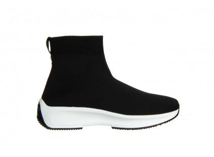 Sneakersy Sca'viola L-16 Black 047195, Czarny, Materiał