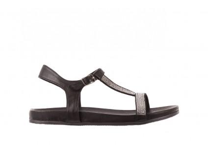 Sandały Bayla-163 17-301 Black, Czarny, Skóra naturalna