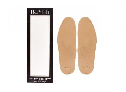 Bayla-139 SPG Wkładka skórzana gładka profilowana 279