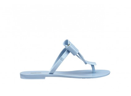 Melissa T Bar V AD Frosted Blue