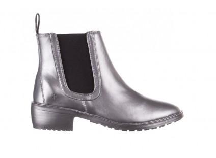 Kalosze Emu Ellin Rainboot Silver 119125, Srebrny, Guma
