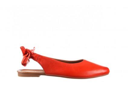 Sandały Bayla-161 066 504 310 Red, Czerwony, Skóra naturalna