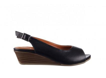 Sandały Bayla-161 078 606 3 Black, Czarny, Skóra naturalna