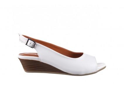 Sandały Bayla-161 078 606 3 34 White, Biały, Skóra naturalna