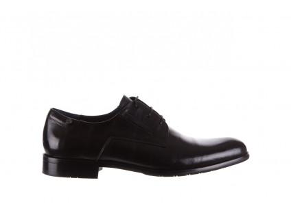 Półbuty Brooman 53205A Black, Czarny, Skóra naturalna