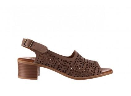 Sandały Bayla-190 409 243 20, Beż, Skóra naturalna
