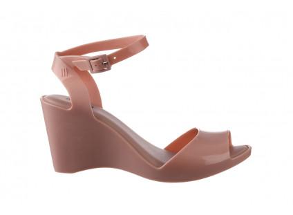 Sandały Melissa Blanca AD Pink 010327, Róż, Guma